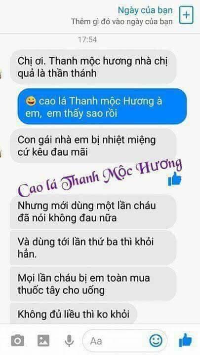 Cao lá Thanh Mộc Hương