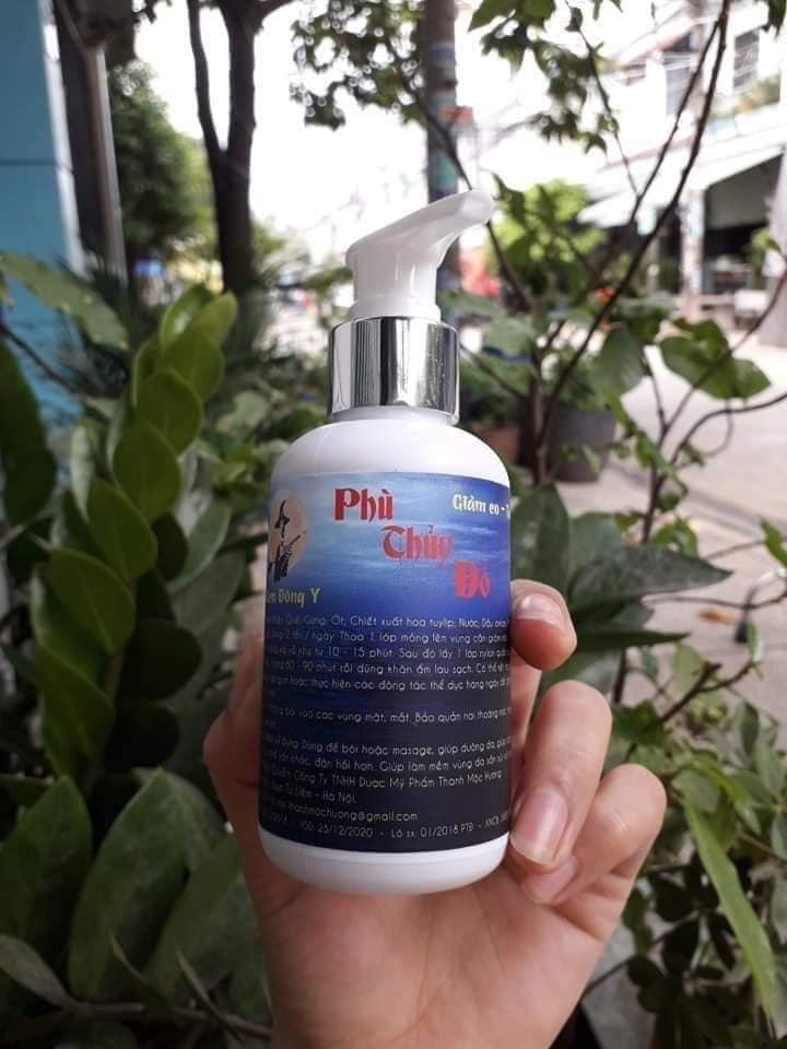 Kem tan mỡ Phù Thủy Đỏ Thanh Mộc Hương - Bí quyết vòng eo 56
