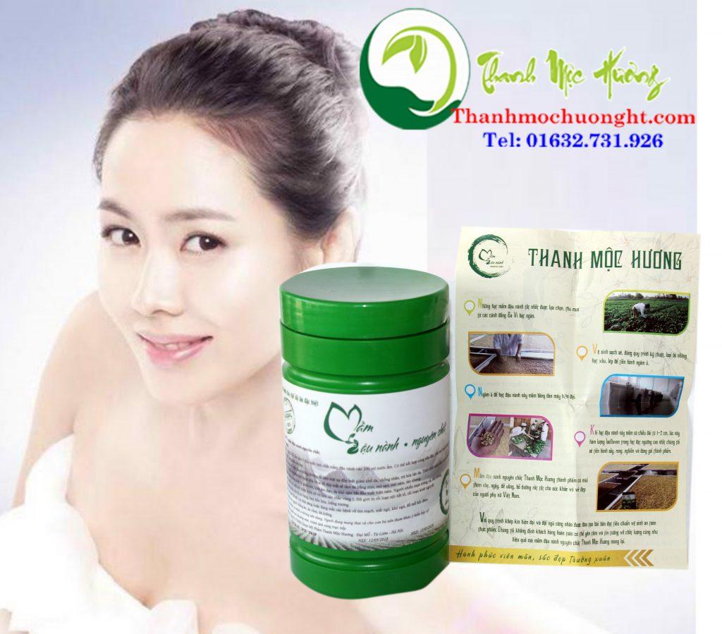 Quy trình sản xuất Mầm đậu nành của Thanh Mộc Hương