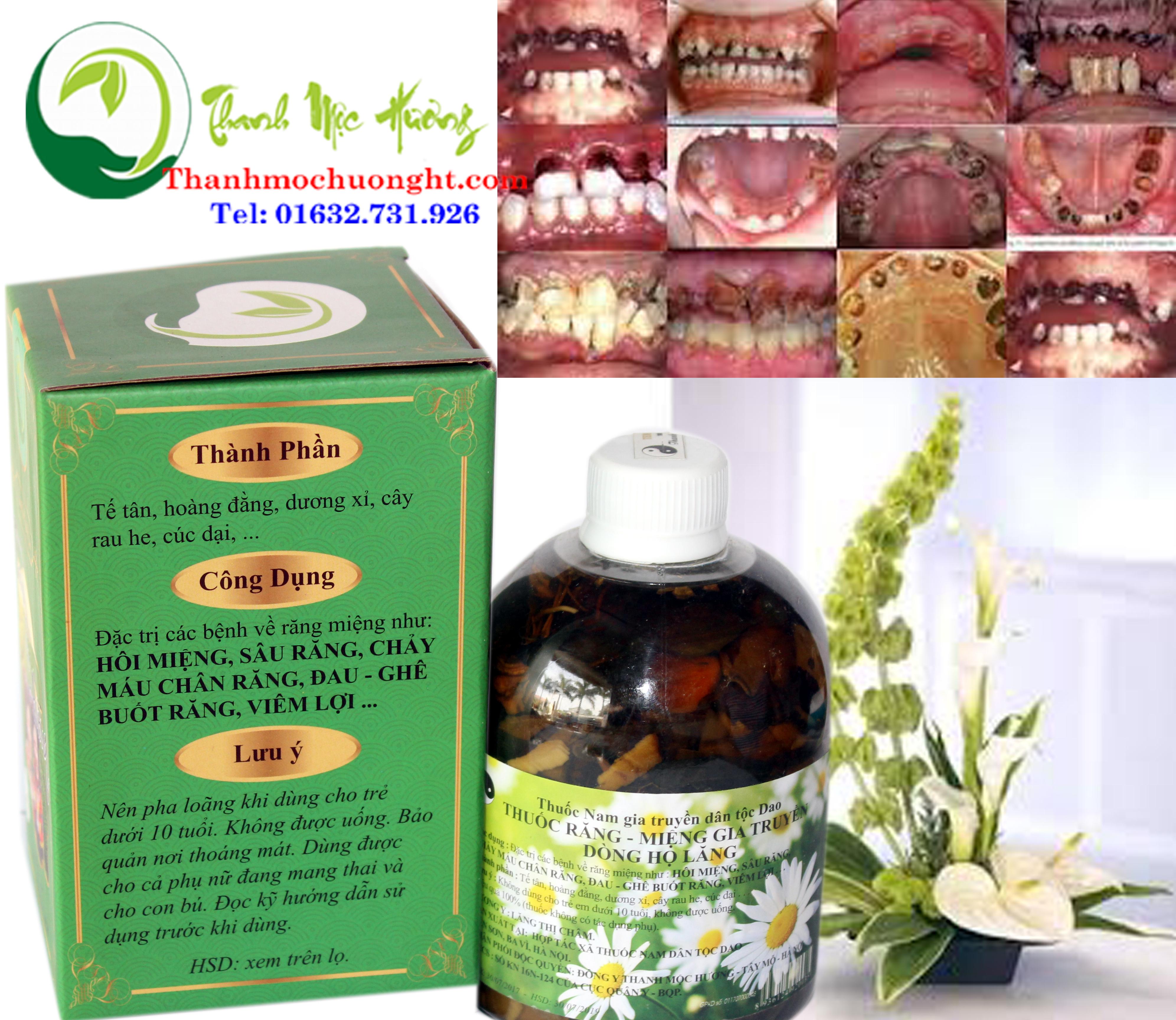 Thuốc răng miệng Thanh Mộc Hương dùng được cho trẻ từ mấy tuổi