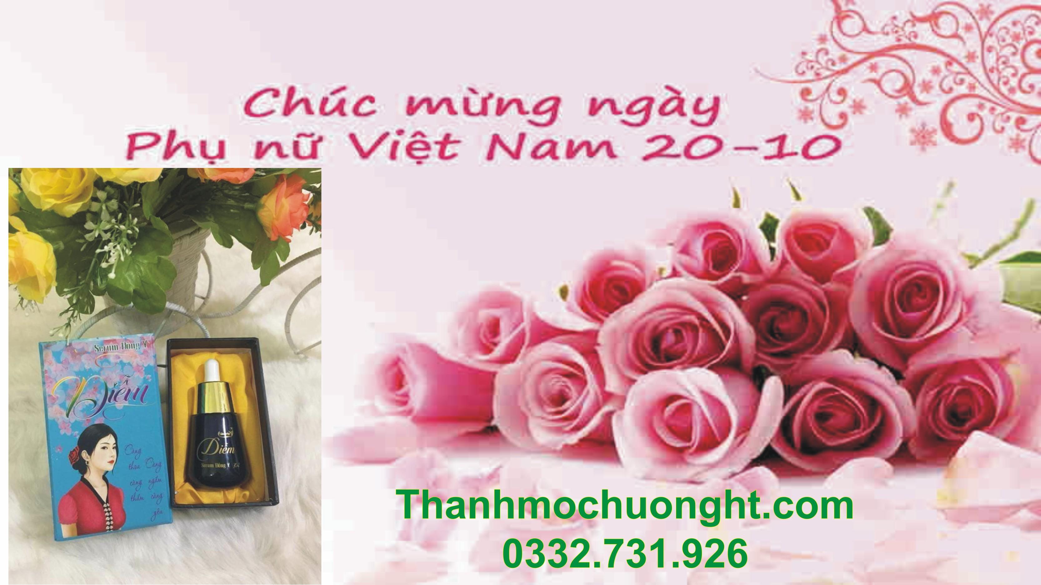 Gợi ý tặng quà 20/10 bằng các sản phẩm chăm sóc sắc đẹp Thanh Mộc Hương