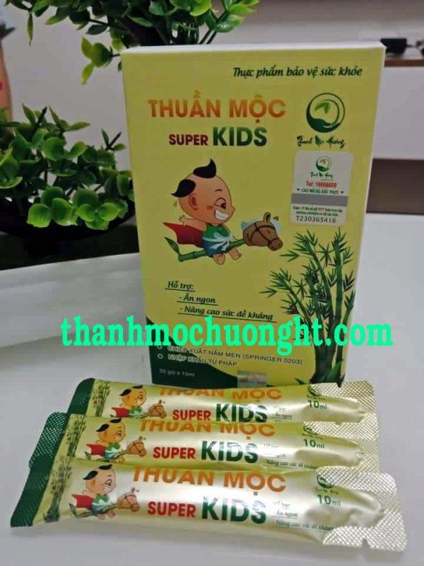 Thuần Mộc Super Kids Thanh Mộc Hương-Bé Ăn Ngon Phát Triển Tốt